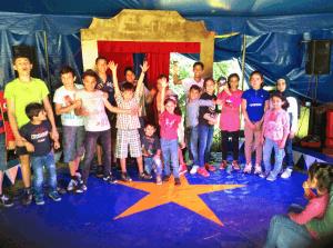 Zusammen stark im Zirkusprojekt