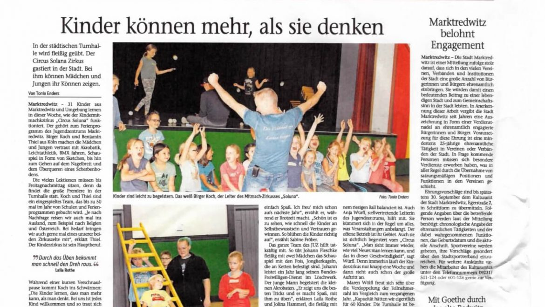 Circus Soluna in Marktredwitz