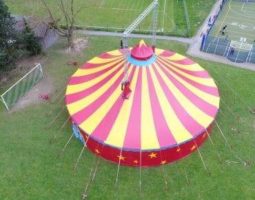 Zirkus Leben in Monheim am Rhein