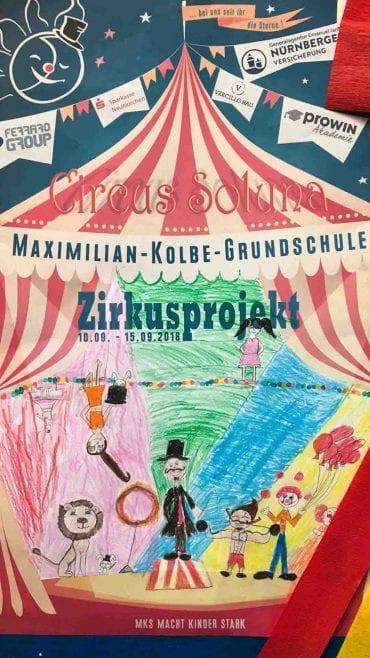 Zirkusprojekt an der Maximilian Kolbe Grundschule in Wiebelskirchen