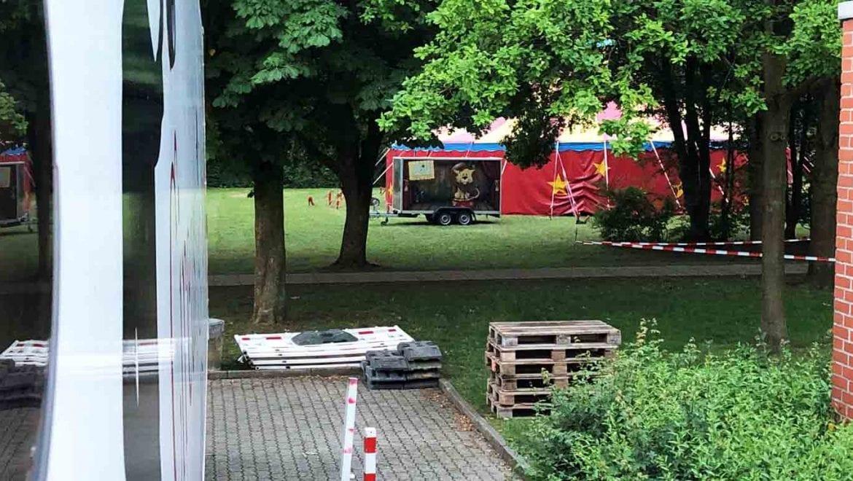 Zirkusprojekt in der Eichendorf Schule Beckum