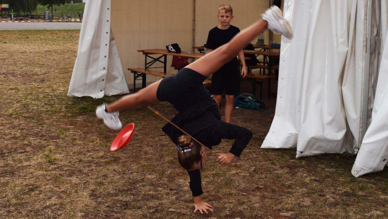 Zirkuspädagogik mit Circus Soluna